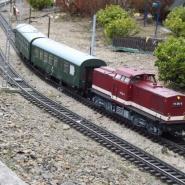 Personenzug im Planverkehr, Quelle: Holger Gatz