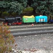 Ein Spaß für die kleine Besucher, der Seifenblasenzug, Quelle: Holger Gatz