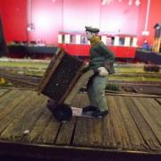 Arbeiter bei der Torfverladung, Quelle: Holger Gatz