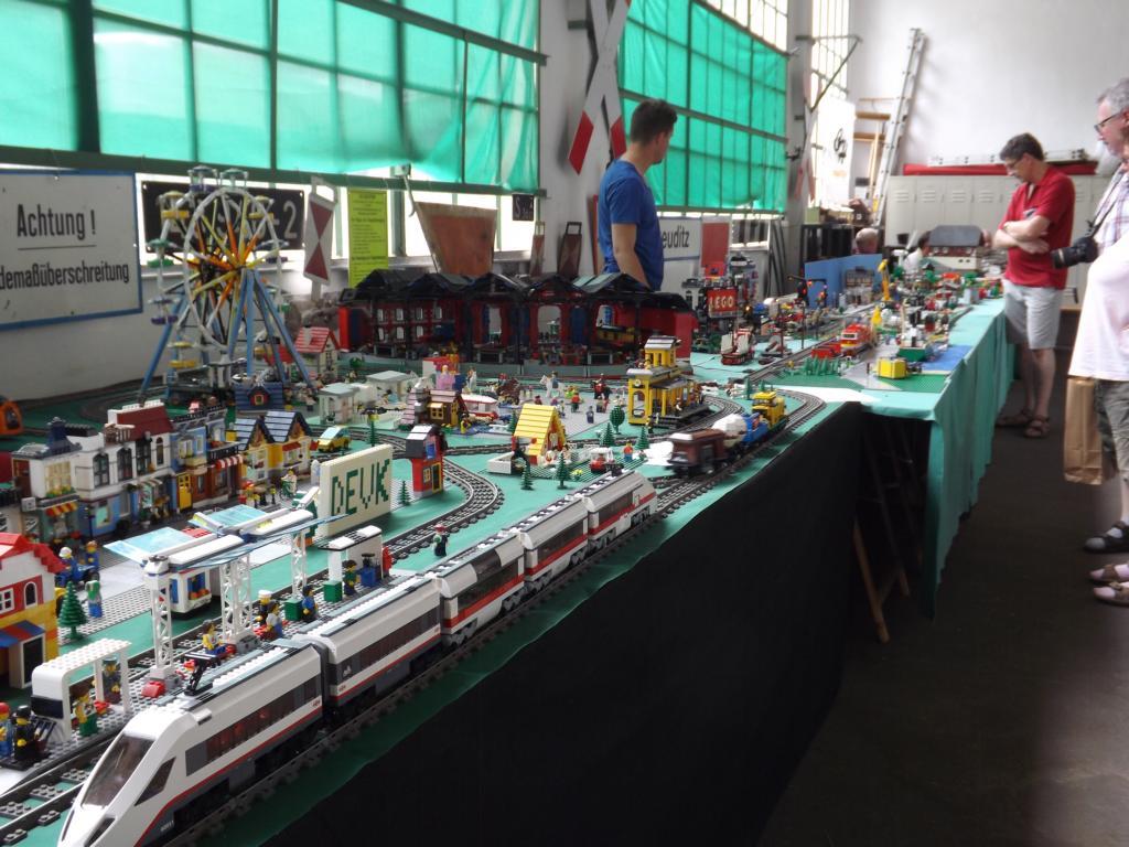 Große LEGO-Anlage 2016, Bild: Holger Gatz 2016