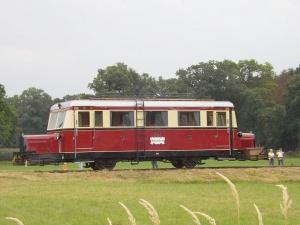 Der T41 beim Vereinsjubiläum könnte bei der Saisoneröffnung zum Einsatz kommen (Foto: Holger Gatz)