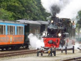 Die Gastlok HASPE fährt an - DEV, 05.08.2016, Quelle: Holger Gatz