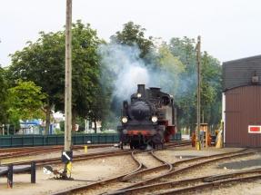 Preußische T13 7906 STETTIN des MEM zu Gast beim DEV, 05.08.2016, Quelle: Holger Gatz