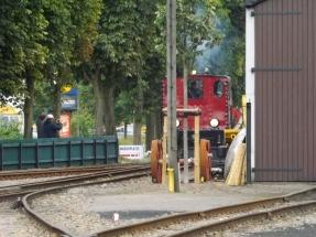 Die V 4 EMDEN fährt an ... - DEV, 05.08.2016, Quelle: Holger Gatz