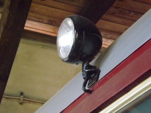 Vorbild DEV T 41, 19.06.2016, Detail Stirnlampen