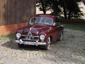 Ein liebevoll gepflegter Borgward in Heilgenberg