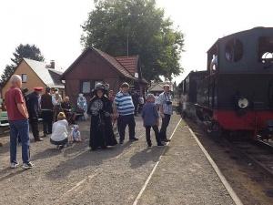 Am Bahnhof Asendorf