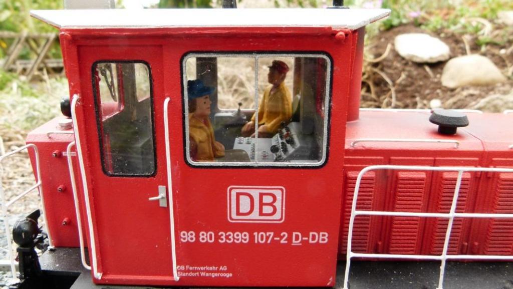 3-D-Druck-Projekt Wangerooger 399 107 / 108, Foto: HJE, 2016